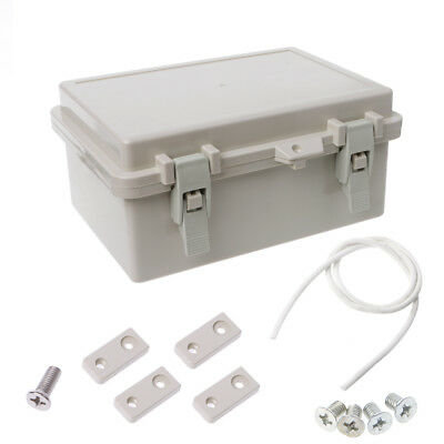 Electronic IP65 Junction Box Enclosure Case Outdoor Terminal Cable Waterproof