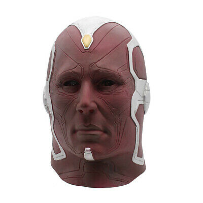 Avenger 4 Spoof Mask Party Costume Cosplay Halloween Head Gear Latex Fashion