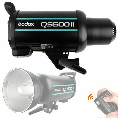 Godox QS600II 600W 2.4G Wireless X System Strobe Flash Light Speedlite Head