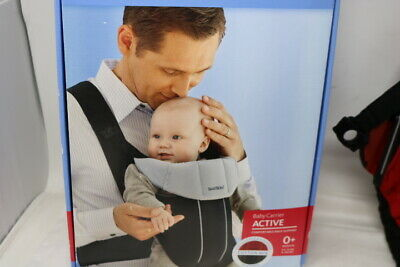 BABYBJORN Baby Carrier Active 0+ 8-26lb Soft Cotton Polyester Mix Boxed C2