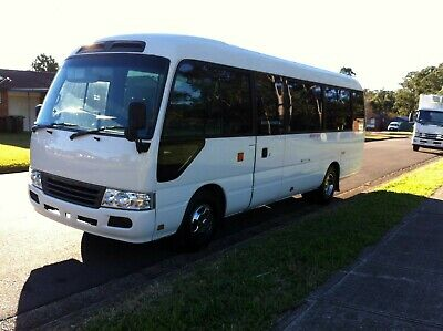 2010 Toyota Coaster Bus XZB50R Deluxe Automatic
