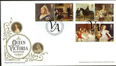 GB 2019 Royal Mail Queen Victoria London SW1 Postmark F.D.C Unaddressed