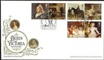 GB 2019 Royal Mail Queen Victoria London W8 Postmark F.D.C Unaddressed