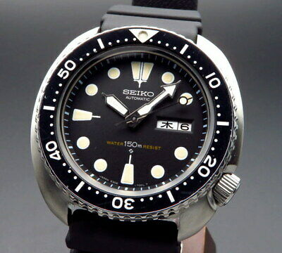 Seiko Diver Third Model 6306-7001 Mens Watch Self-winding  1978 Vintage OHed