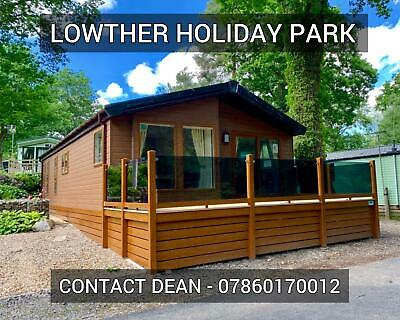 Super luxury twin lodge chalet cabin for sale Lake District Cumbria near bowness