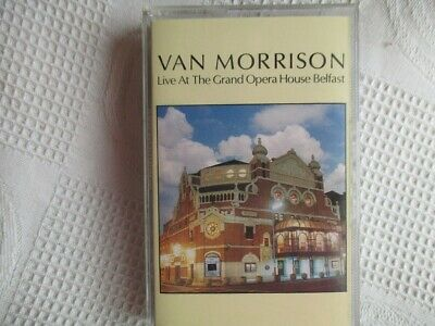 VAN MORRISON Live at the Grand Opera House Belfast cassette