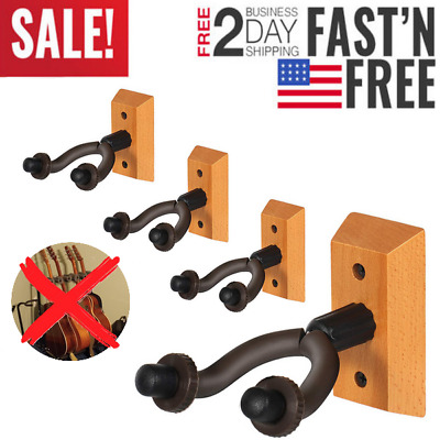 Guitar Hanger Holder Stand Mount Keep 4 PACK for Guitar Bass Electric Acoustic