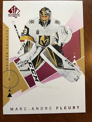 18-19 UD SP Authentic Red Parallel #90 Marc-Andre Fleury