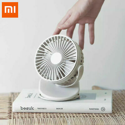 Xiaomi SOLOVE Mini Electric USB Charging Table Clip-on Fan with 360° Rotating