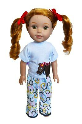 Lucky Pony Outfit for Wellie Wisher Dolls 14.5 Inch Doll Clothes