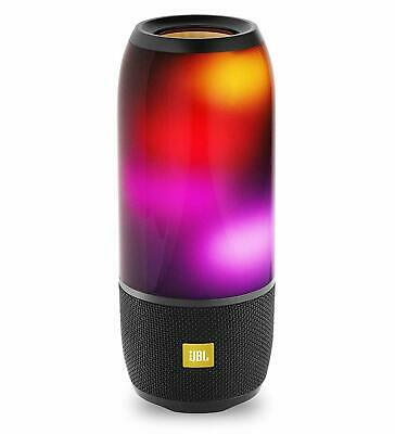 JBL Pulse 3 Wireless Bluetooth Speaker (Black) Lights up See Pics