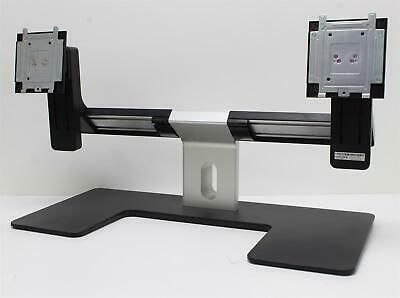"Dell HXDW0 24"" Display Dual Monitor Stand Tilt Swivel"