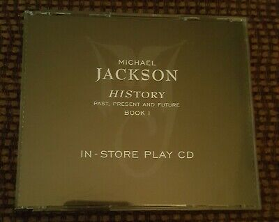 Michael Jackson History In-Store Play 2 Cd Set Promo Only