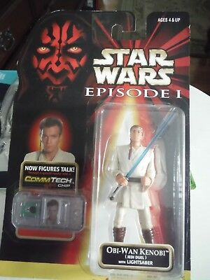 Hasbro Star Wars Episode I Collection I: Obi-Wan Kenobi Jedi Duel With Lightsabe