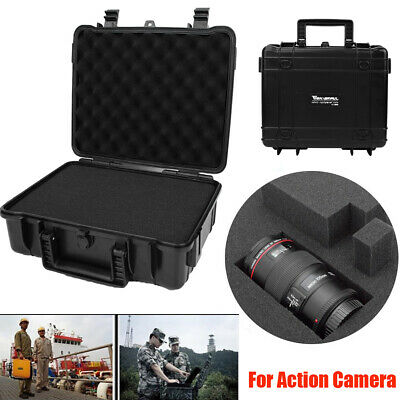 Dry Box Waterproof Hard Case Foam Padding Camera Protector Storage Case Box SG