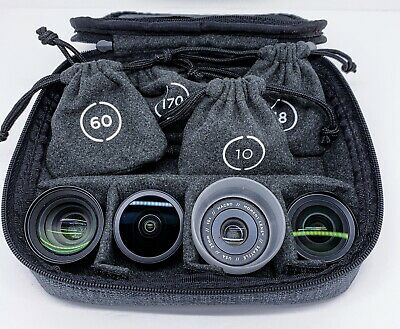 Moment Lenses V1 (O Series) W/case