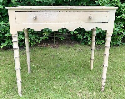 Antique Victorian Painted Pine Table
