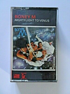 Boney M Nightflight To Venus Album Stereo Cassette Tape Atlantic K450498 1978