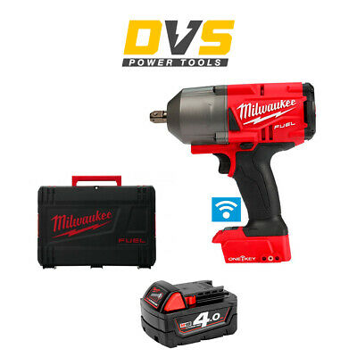 Milwaukee M18ONEFHIWP12-0 18v M18 1/2 FUEL ONE-KEY Impact Wrench Pin Detent 4Ah