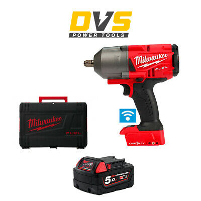 Milwaukee M18ONEFHIWP12-0 18v M18 1/2 FUEL ONE-KEY Impact Wrench Pin Detent 5Ah