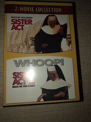 Sister Act / Sister Act 2 - Back in the Habit Dvd 2 Disc Set