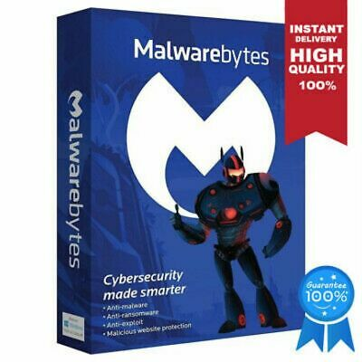 ⭐ Malwarebytes ⭐ Anti-Malware Premium GLOBAL Key 1 PC | LIFETIME | CHEAPEST 🔥