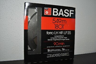 NEW - BASF 7inch Reel to Reel Tape - Unboxed