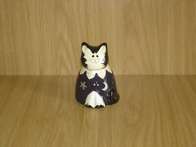 *WONDERLAND MINIATURE ORNAMENTS* Moon and Stars Cat.