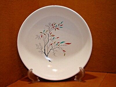 "Rare Antique Salem China Southwind 9 1/4"" Serving Bowl Free Form Tree Branch Euc"
