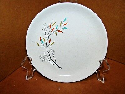 Rare Antique Salem China Southwind 2 - Dessert Plates Free Form Tree Branch Euc