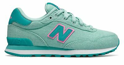 New Balance Kid's 515 Spring Canvas Pack Big Kids Female Shoes Blue