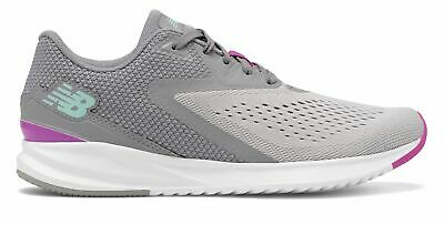 New Balance Women's FuelCore Vizo Pro Run Shoes Grey with Pink