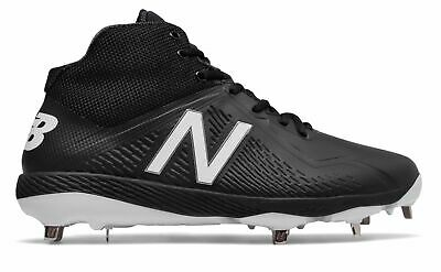 New Balance Mid-Cut 4040v4 Elements Pack Metal Baseball Cleat Mens Shoes Black