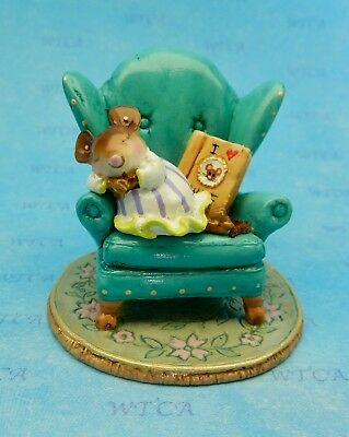 Wee Forest Folk MOUSE TALES, I Love WFF Club Piece, In Your Dreams Event