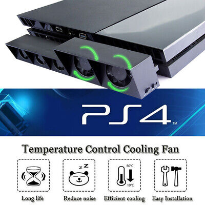 5fan For PS4/Pro Game Accessories Play Station4 Host Cooling Fan Cooler External