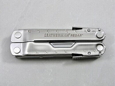 Leatherman REBAR Multi-Tool, Knife, Pliers, Saw, Stainless – USA – Excellent!
