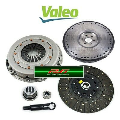 VALEO STAGE 3 CLUTCH KIT+CHROMOLY FLYWHEEL for 1981-1995 FORD MUSTANG GT LX 5.0L