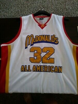 newest c3c6d 1e9be LEBRON JAMES MCDONALDS All American High School Basketball ...