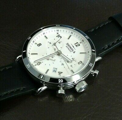 4f900edf6 SHINOLA CANFIELD WATCH With 32mm White Face & Rose Gold Bezel Org ...