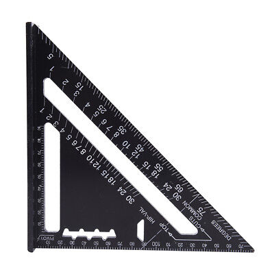 Triangle Angle Square Speed Rafter Protractor Miter Ruler Kit M3C