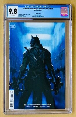 Batman Who Laughs: The Grim Knight #1 CGC 9.8 Dell Otto VARIANT * Fast Shipping