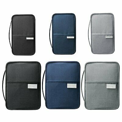 Family Travel Wallet Passport Document Holder RFID Case Waterproof Organizer