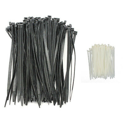 100PCS Strong Cable Ties / Tie Wraps Zip Ties Color:Black Size:5*370mm I5T3