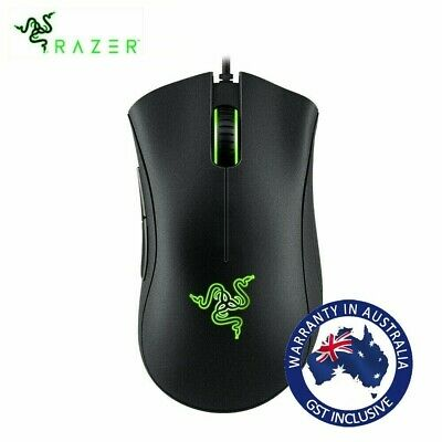 Razer DeathAdder Essential Wired Gaming Mouse 6400DPI Optical Mice for PC Laptop