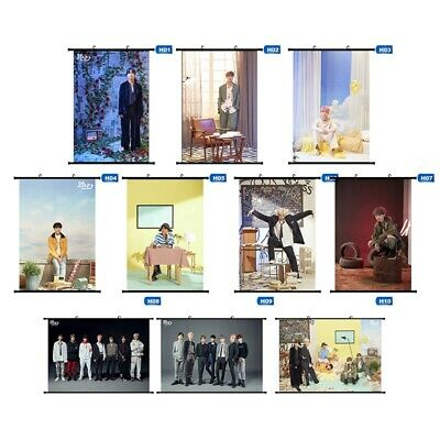 BTS Photo Poster JIMIN V JK Wall Scroll Painting 2019 FAMILY PORTRAIT Collection