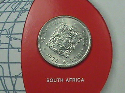 SOUTH AFRICA 20 Cents 1978 COINS NATIONS maximum in USA
