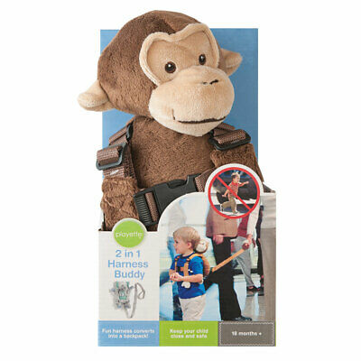 Playette 2-In-1 Harness Buddy Monkey Online Only