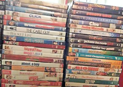 ALL DVD's $3.95 NEW-Good  BUY TWO DVDs GET ONE FREE