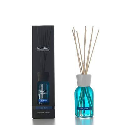 Millefiori Milano - Diffusore A Stick / Bastoncini - Fragranza Sea Shore 500 Ml