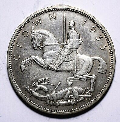 1935 United Kingdom (UK) 1 Crown - George V Silver Jubilee - Lot 803